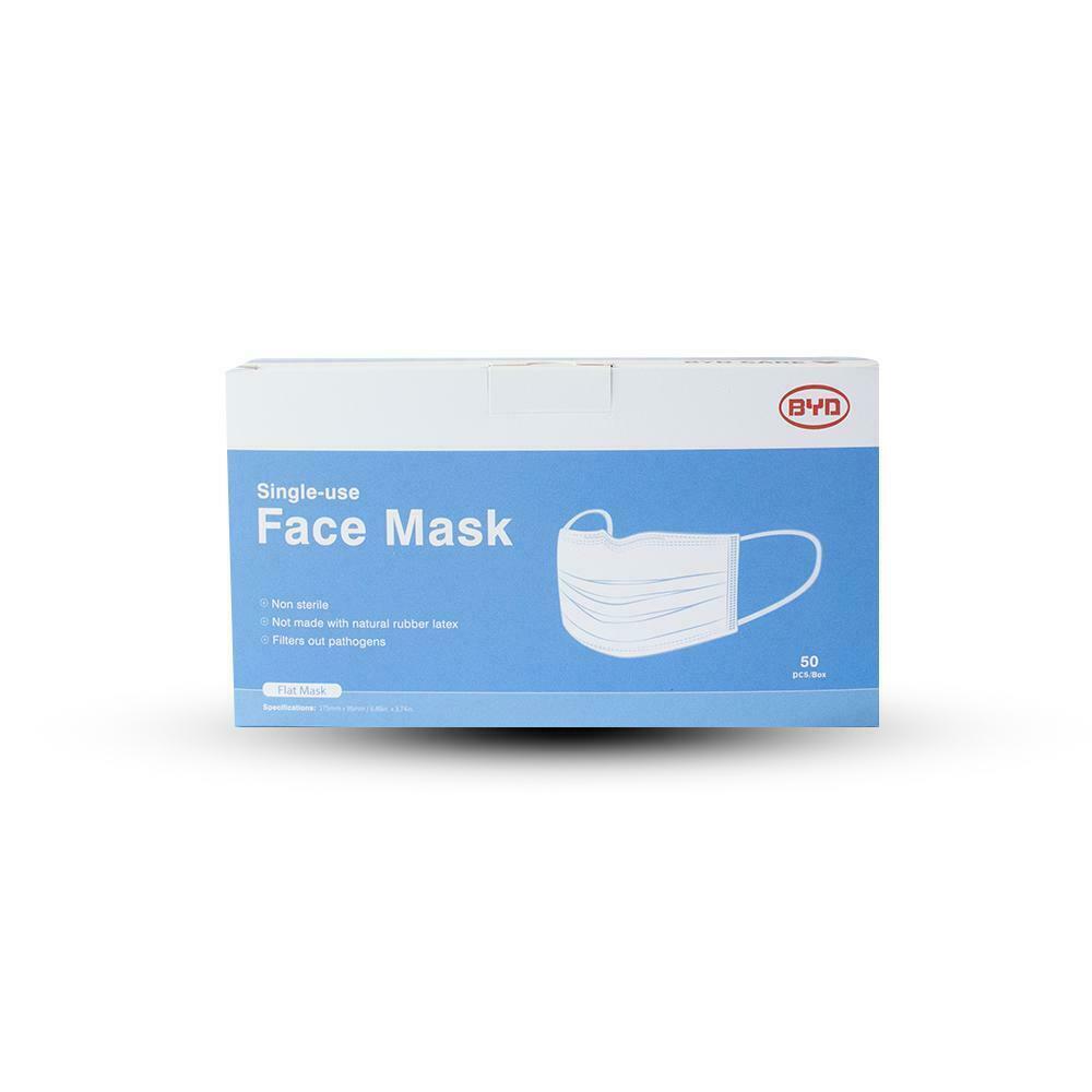 Ear Loop Mask Thick 3ply (Blue) 50 per box