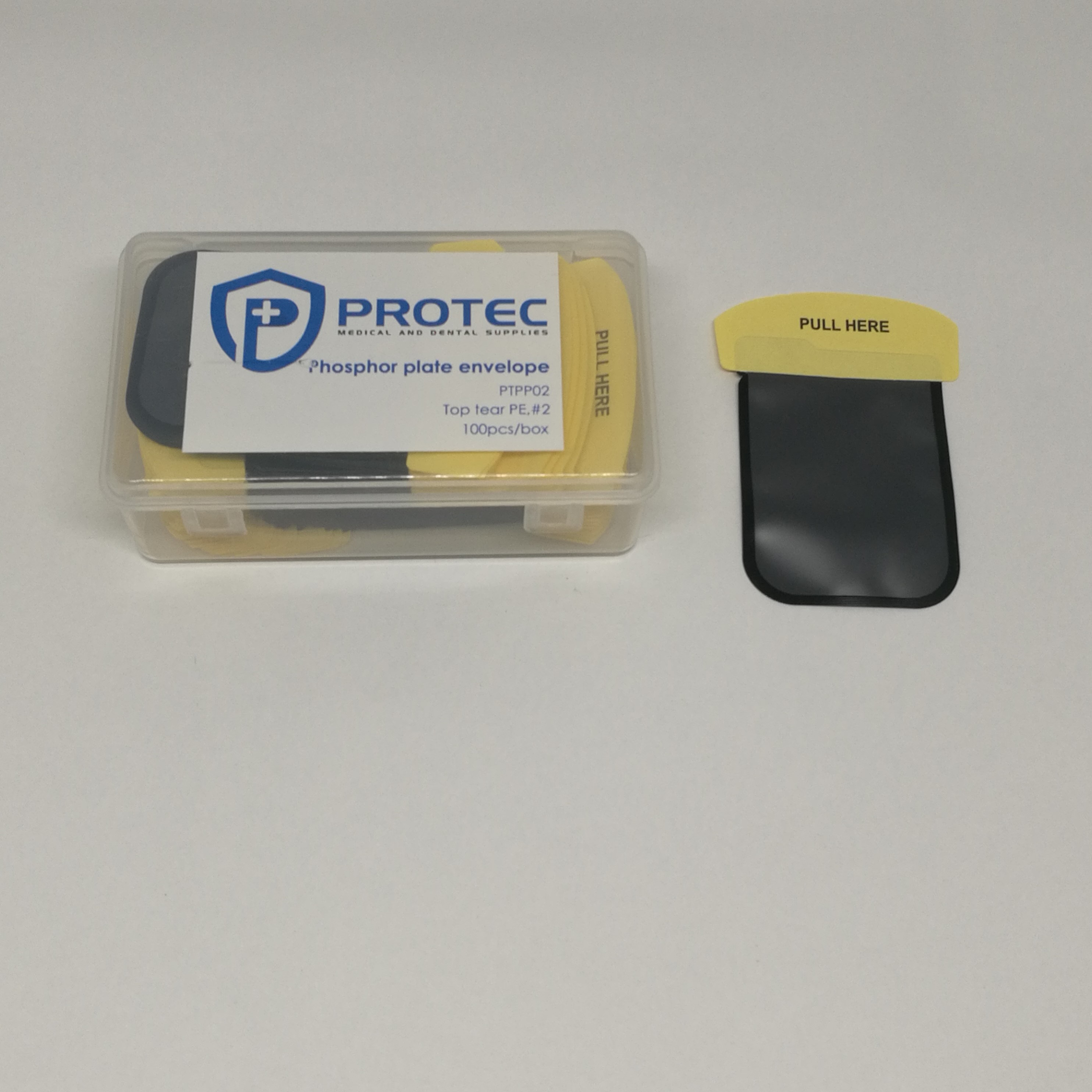 Phosphor plate envelope